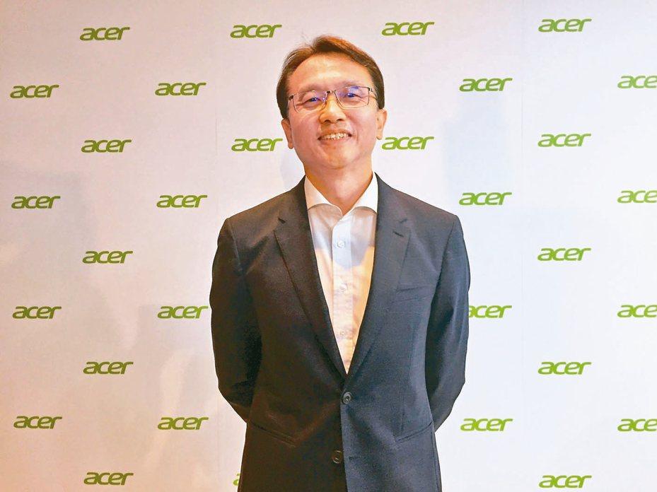 宏碁董事長陳俊聖 (本報系資料庫)