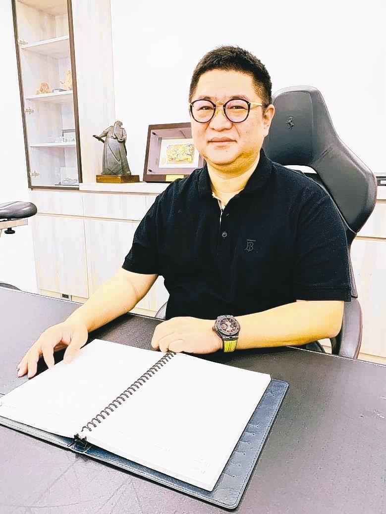 國內刀庫業指標性廠商臻賞工業總經理孫穎。 魯修斌/攝影