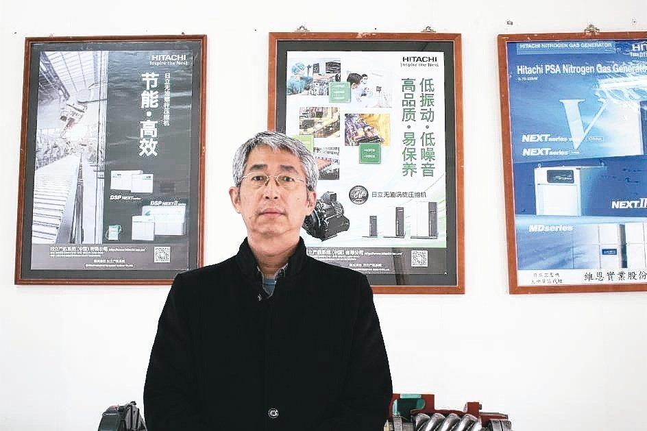 維恩實業公司總經理徐文錦。 吳佳汾/攝影