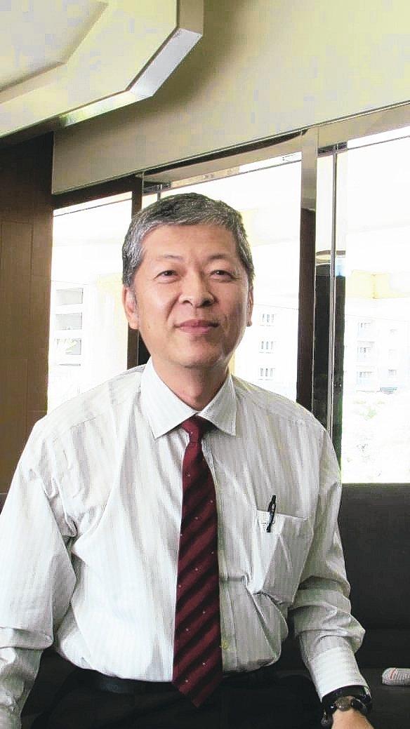 連鴻企業董事長廖偉博。 翁永全/ 攝影