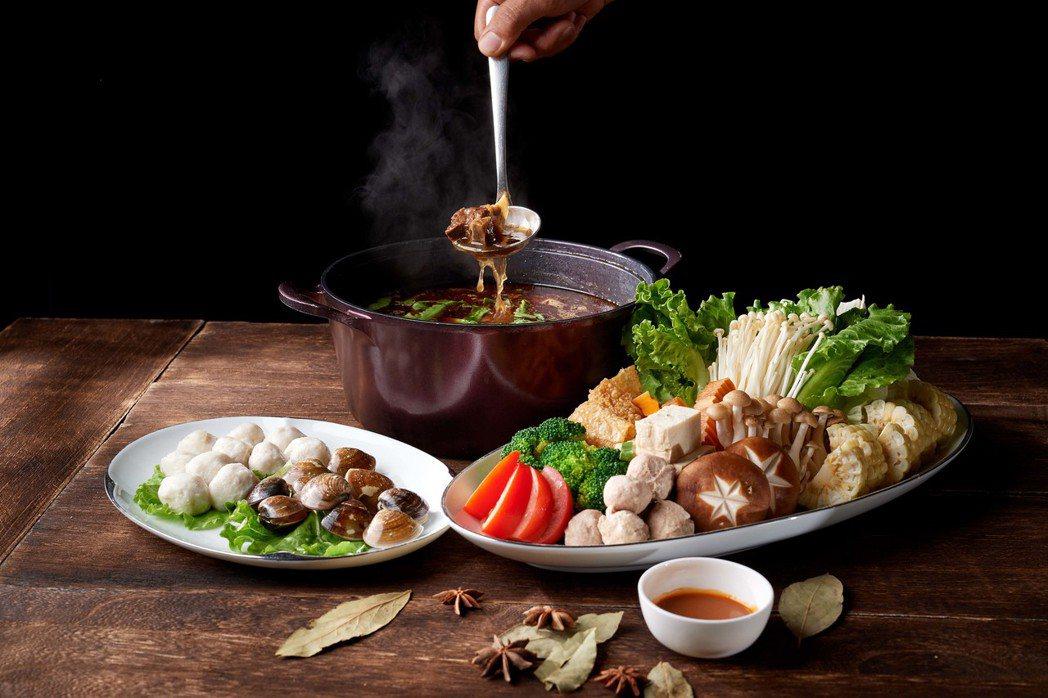 米香台菜餐廳羊肉爐。業者/提供