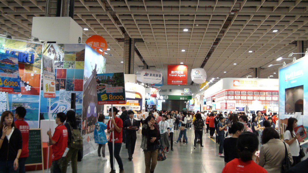 2019 ITF台北國際旅展11月8日至11日於南港展覽館登場;圖為去年展場照。...