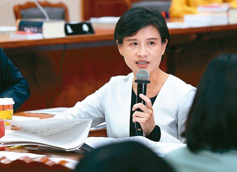 文化部部長鄭麗君。 記者林俊良/攝影