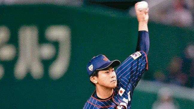 日左投先發,日本隊推出今永昇太先發。 報系資料照