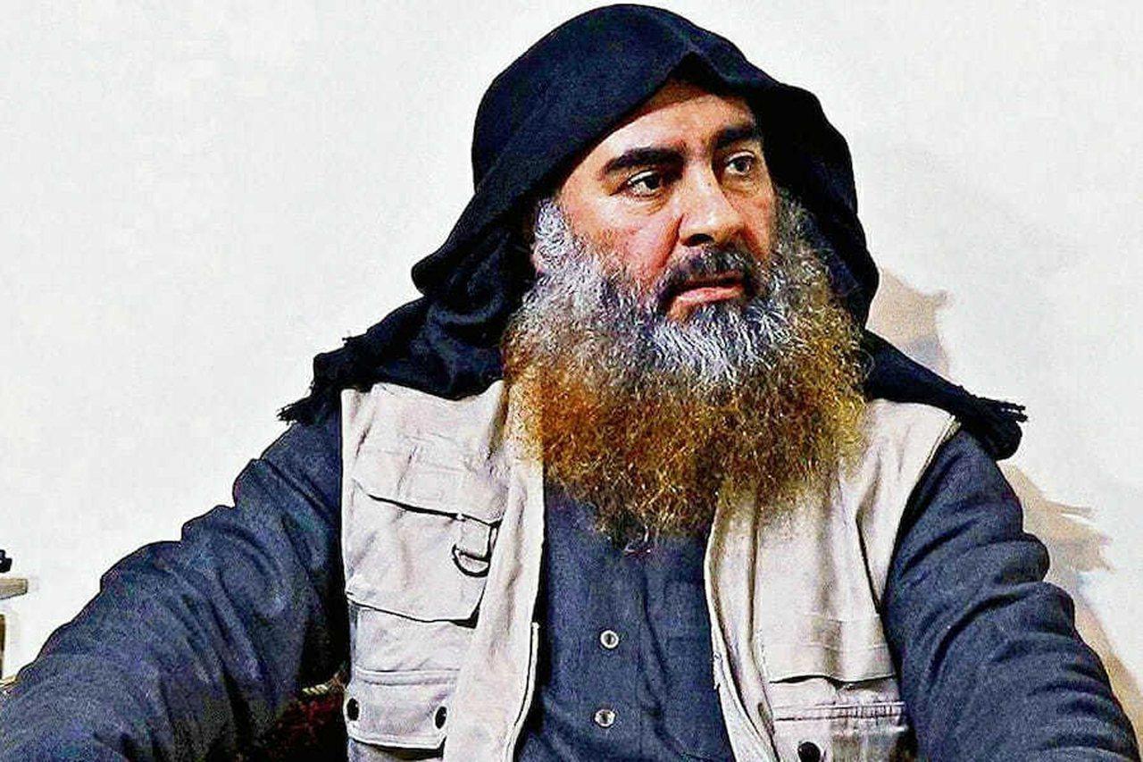 圖為伊斯蘭國已故首腦巴格達迪(Abu Bakr al-Baghdadi)。 歐新...