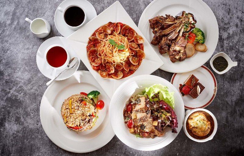 台北福華4人合菜餐券2,500元,圖為熱門的「麗香苑」4人合菜。 台北福華/提供