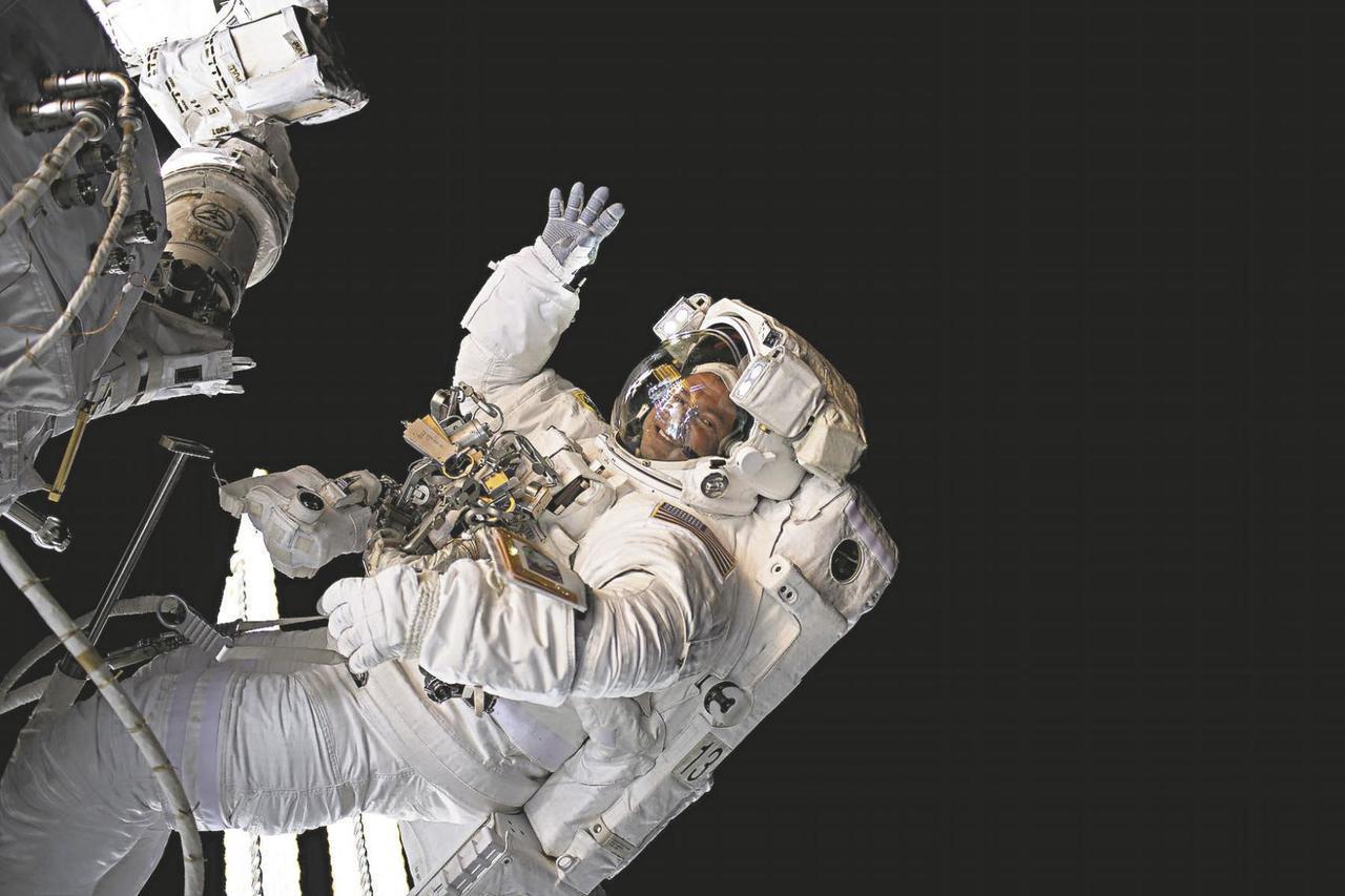 太空人在外太空也能參與民主投票。圖/取自《New Castle News》