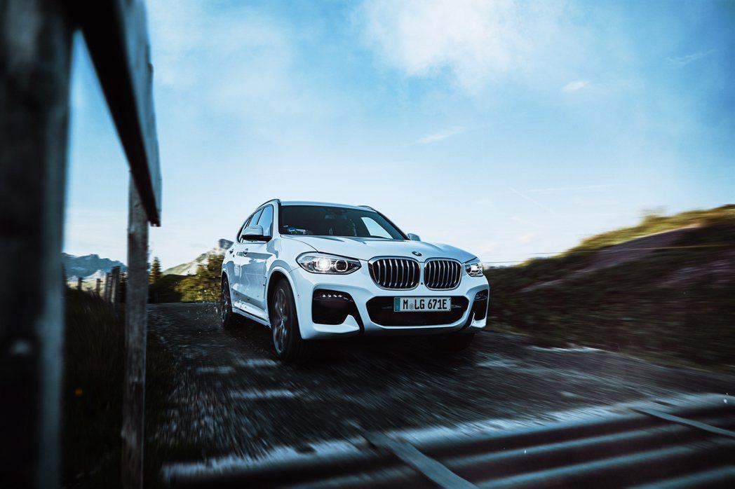 全新BMW X3 xDrive30e在經過歐洲WLTP標準測試之下,擁有平均油耗...