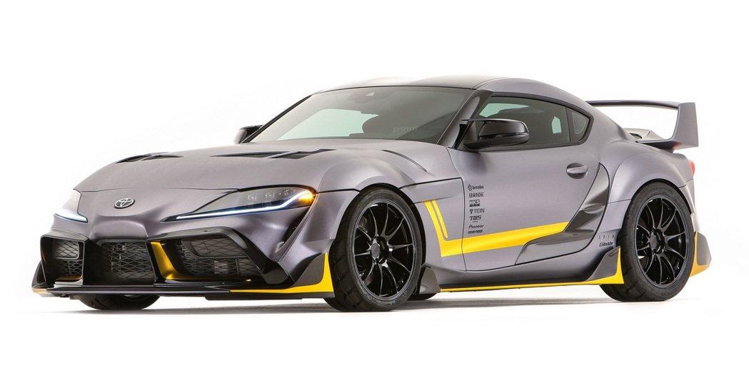 Toyota GR Supra 3000GT Concept。 摘自carsco...