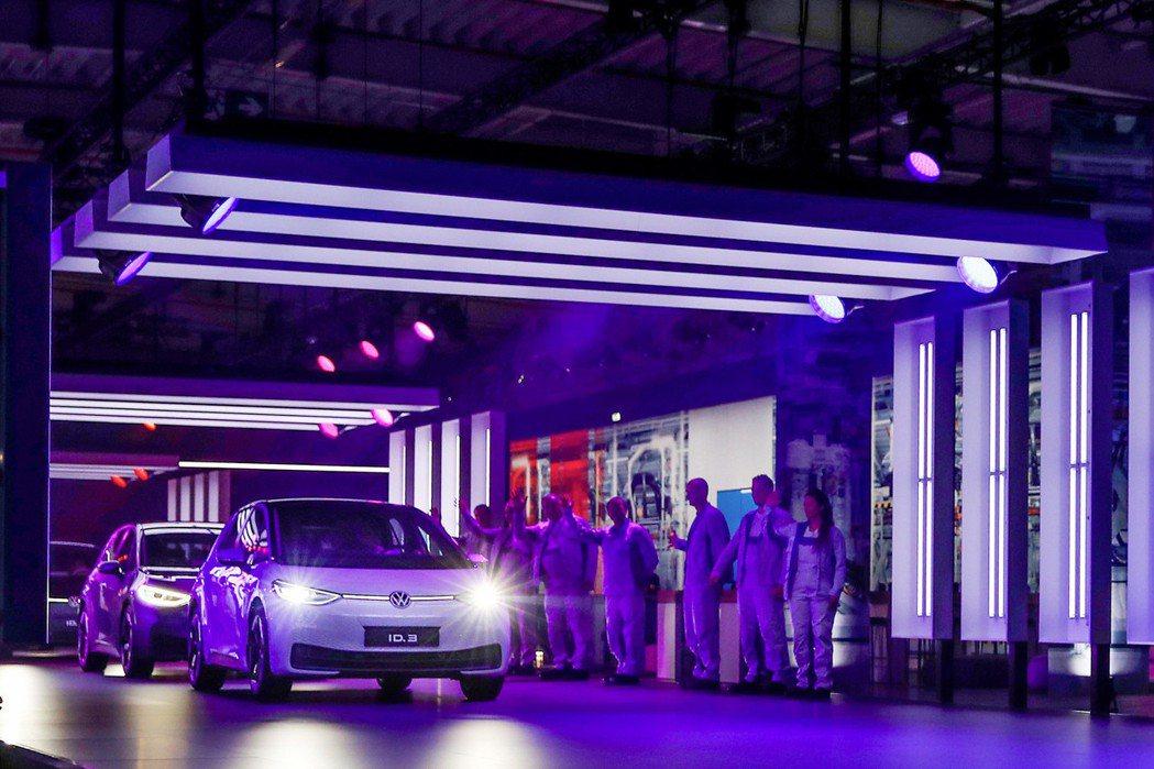 Volkswagen ID.3已在德國Zwickau工廠開始量產。 摘自Volk...