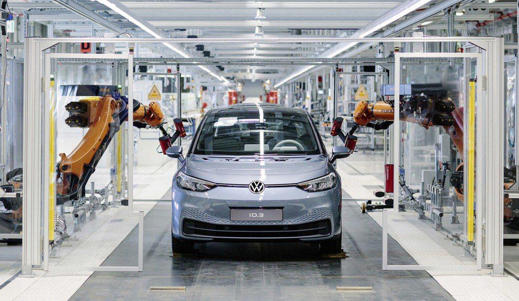 Volkswagen ID.3預計將在明年夏季率先於歐洲上市。 摘自Volksw...