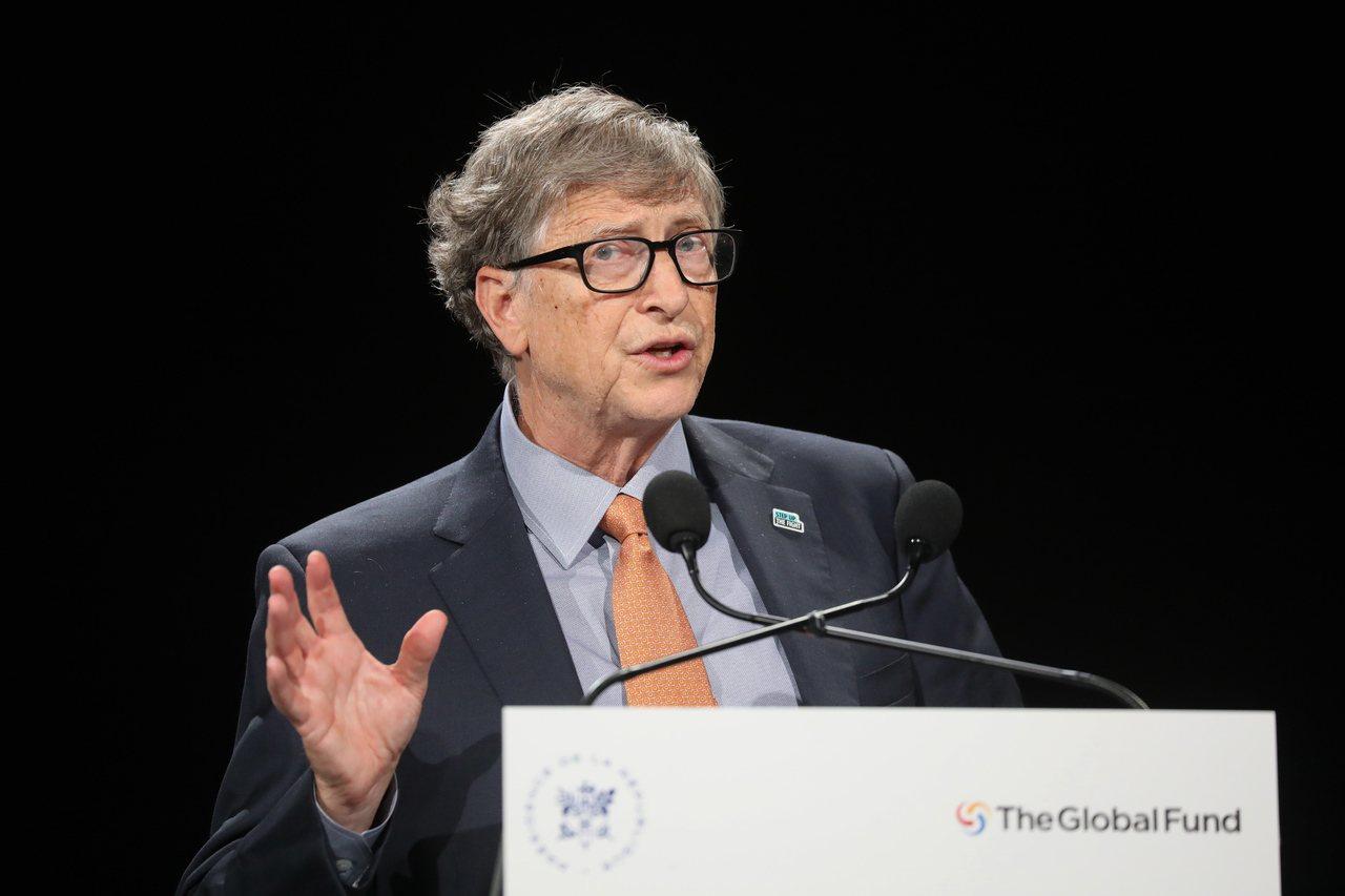 比爾‧蓋茲(Bill Gates)。 歐新社資料照