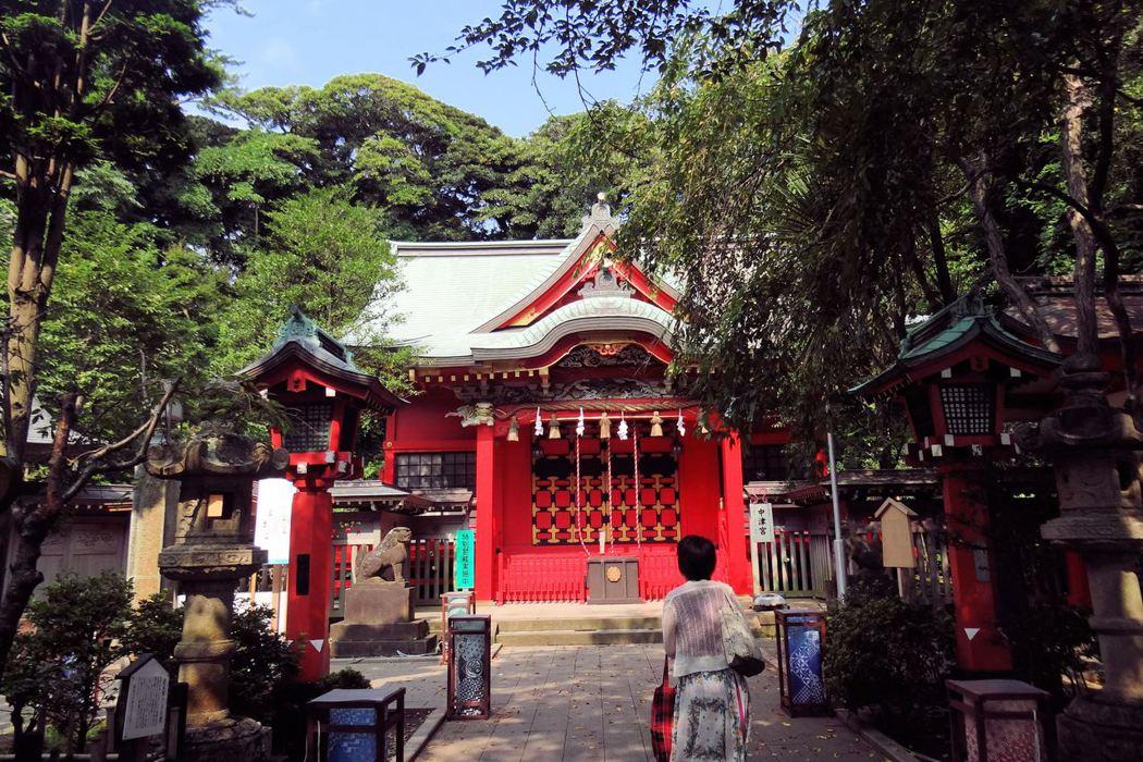 日本/江之島‧江島神社,名列日本三大辯才天