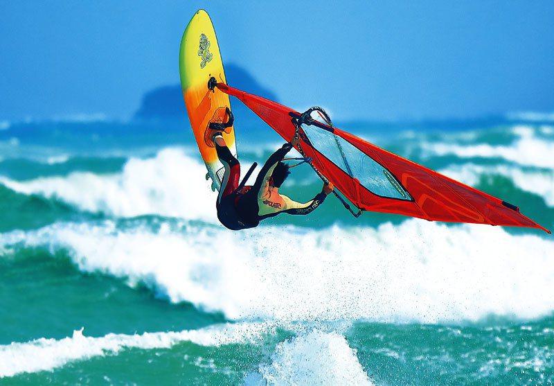 澎湖地區多年來全力推展帆船運動,近期大力爭取「國家海域訓練中心」設置在澎湖方案。 圖/陳雙全提供