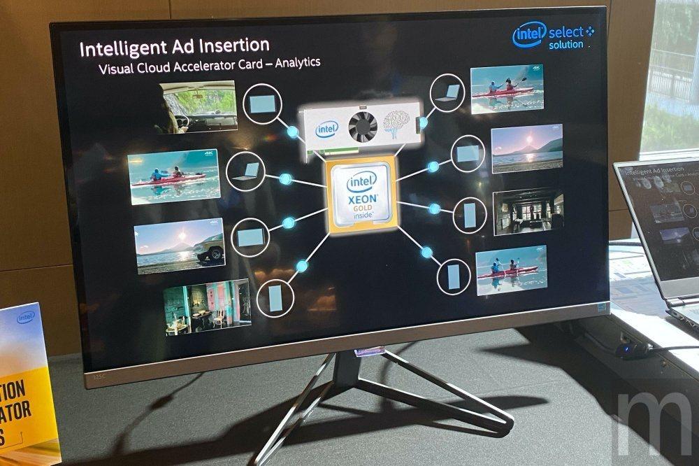 藉由Xeon處理器與Nervana人工智慧推論加速器,將能快速識別影片內容場景、...