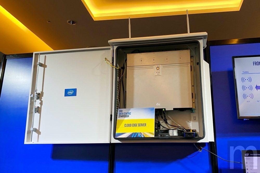 Intel在邊緣運算應用需求打造的搭載無線網路傳輸模組的邊緣算伺服器