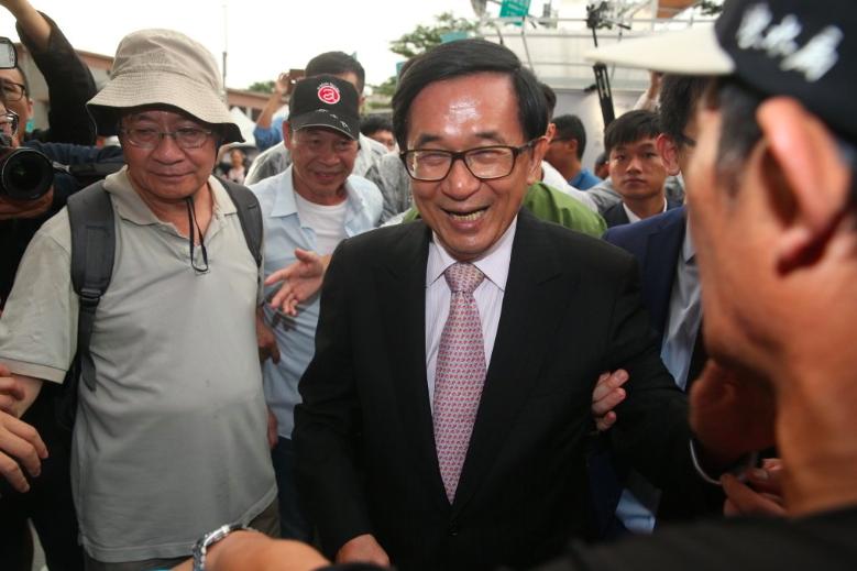 前總統陳水扁。聯合報系資料照片/記者曾吉松攝影