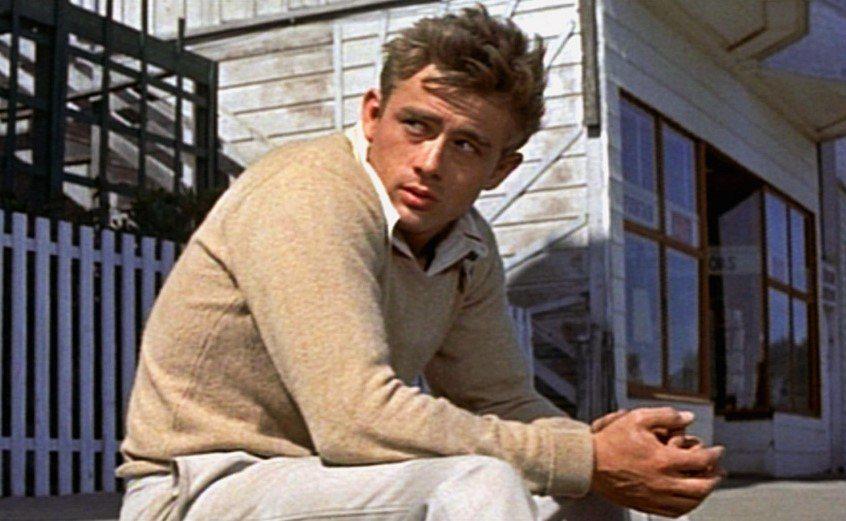 「天倫夢覺」讓詹姆斯狄恩大紅,卻也是他生前唯一上映的主演電影。圖/摘自imdb