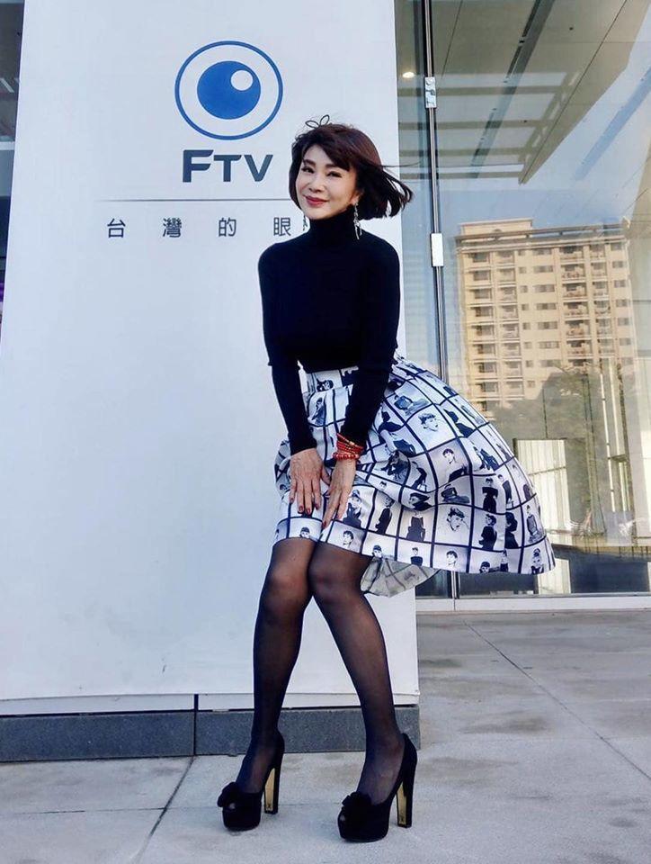 陳美鳳一直維持曼妙身材  圖/摘自臉書