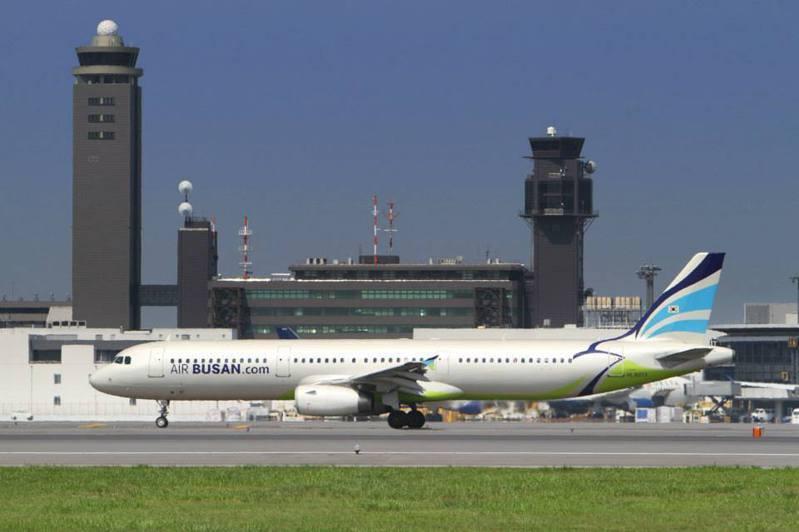 釜山航空。圖/聯合報系資料照片