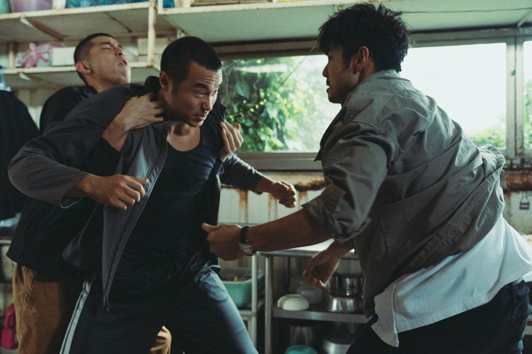 「罪夢者」有許多打架畫面。圖/Netflix提供