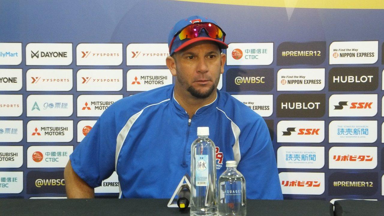 波多黎各投手羅曼建議,中職可再增加球隊。記者藍宗標/攝影