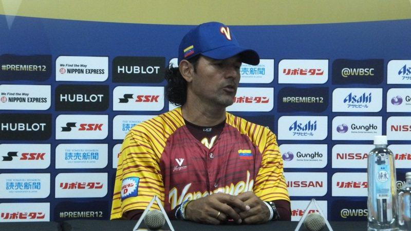 委內瑞拉最後一戰贏球,總教練素貝羅肯定球員表現。記者藍宗標/攝影