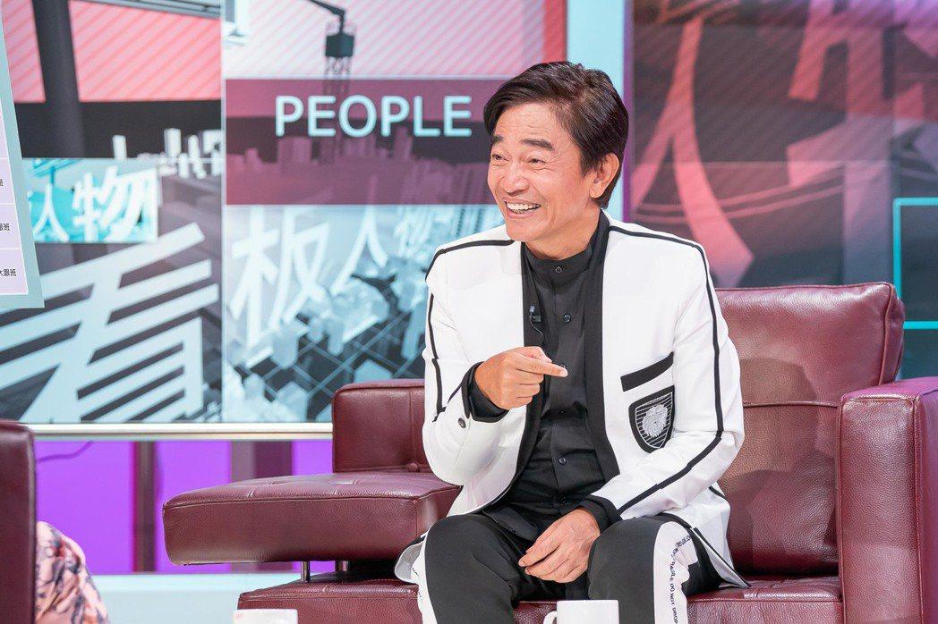 吳宗憲日前上「TVBS看板人物」接受方念華專訪。圖/TVBS提供