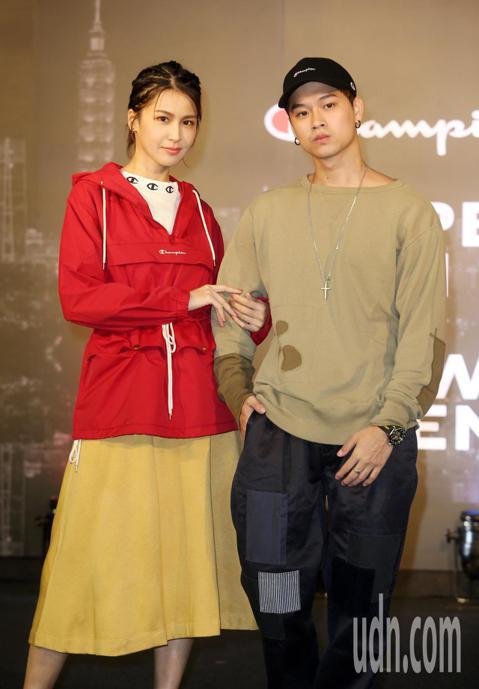 曾沛慈、高爾宣出席Champion進駐台北時尚重鎮101全台第一間品牌形象概念店