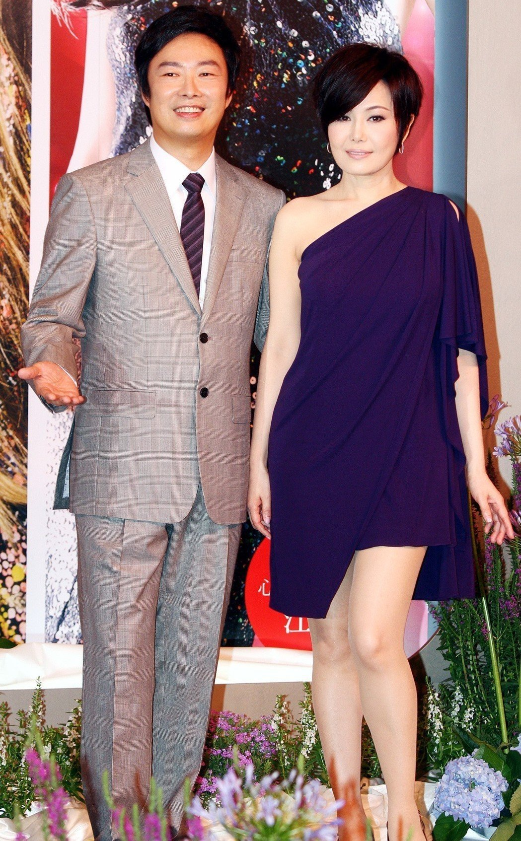 江蕙(右)與費玉清情同家人。圖/聯合報系資料照