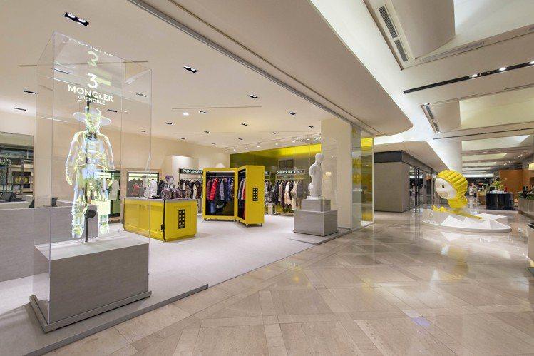 「Moncler Genius限時概念店」亞洲首站設於台北信義新光三越A9一樓,...