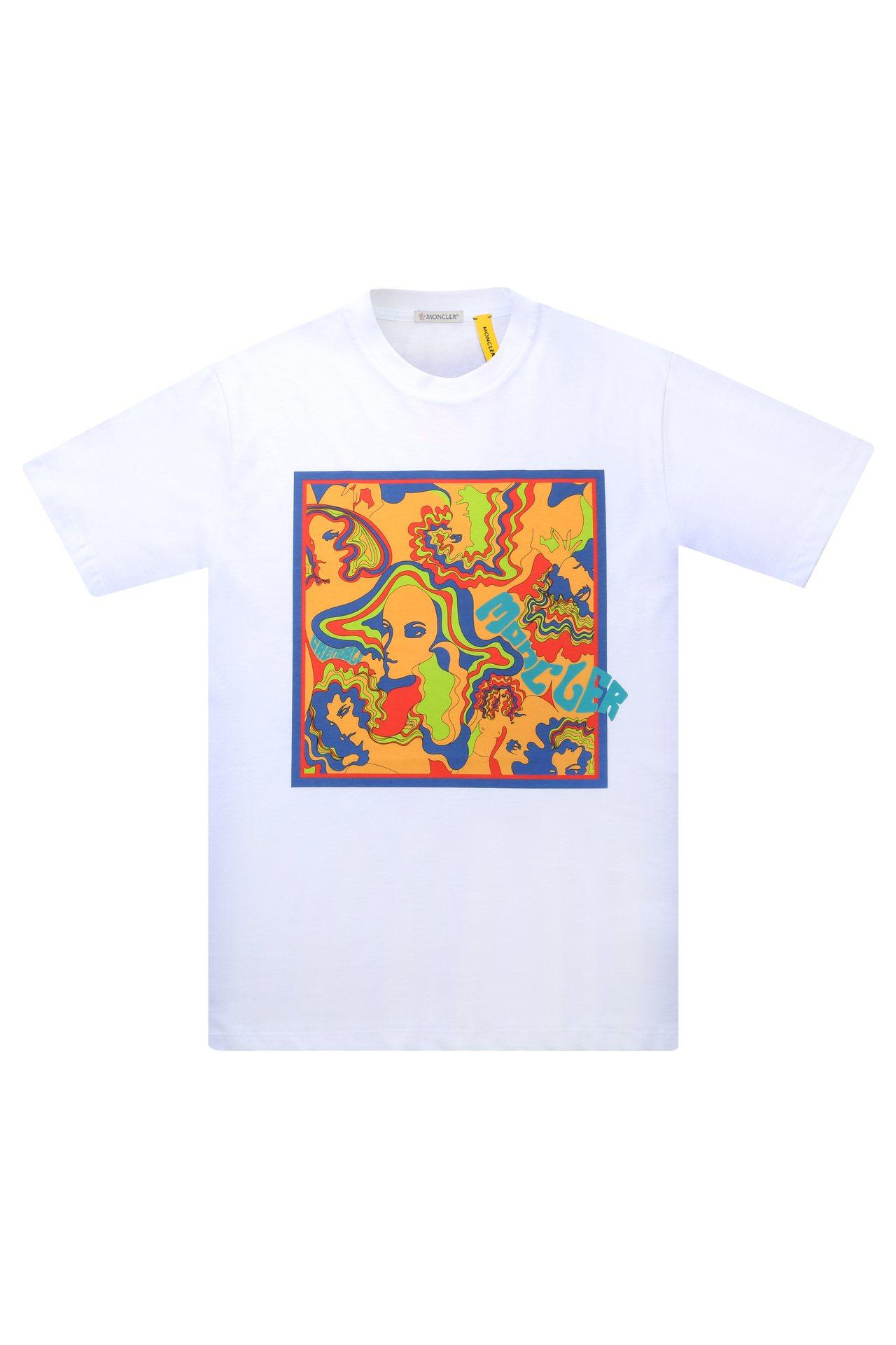 全新的MONCLER Genius系列Grenoble T恤,售價7,500元。...