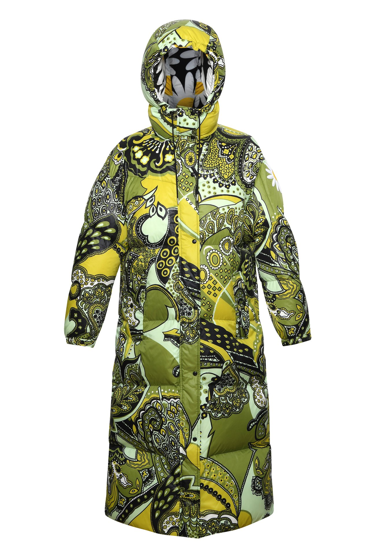 MONCLER Genius之中備受矚目的Richard Quinn羽絨外套。圖...