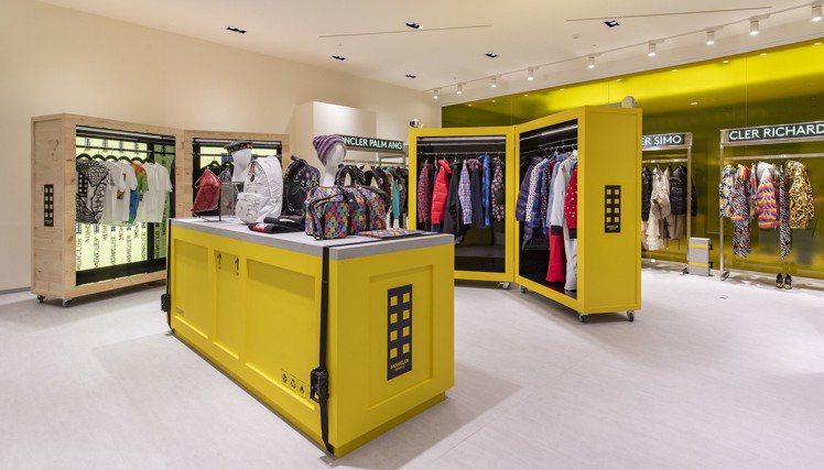 「Moncler Genius限時概念店」亞洲首站設於台北信義新光三越A9一樓。...