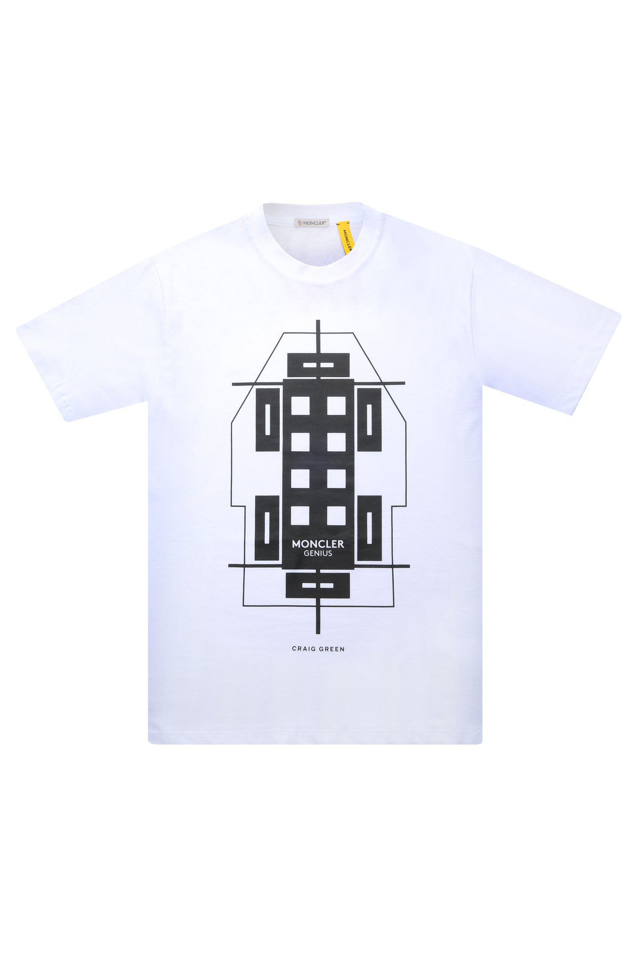 MONCLER Genius系列Craig Green T恤,售價7,500元。...