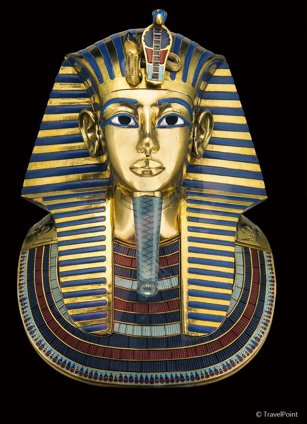 圖坦卡門黃金面具。 圖/聯合數位文創提供