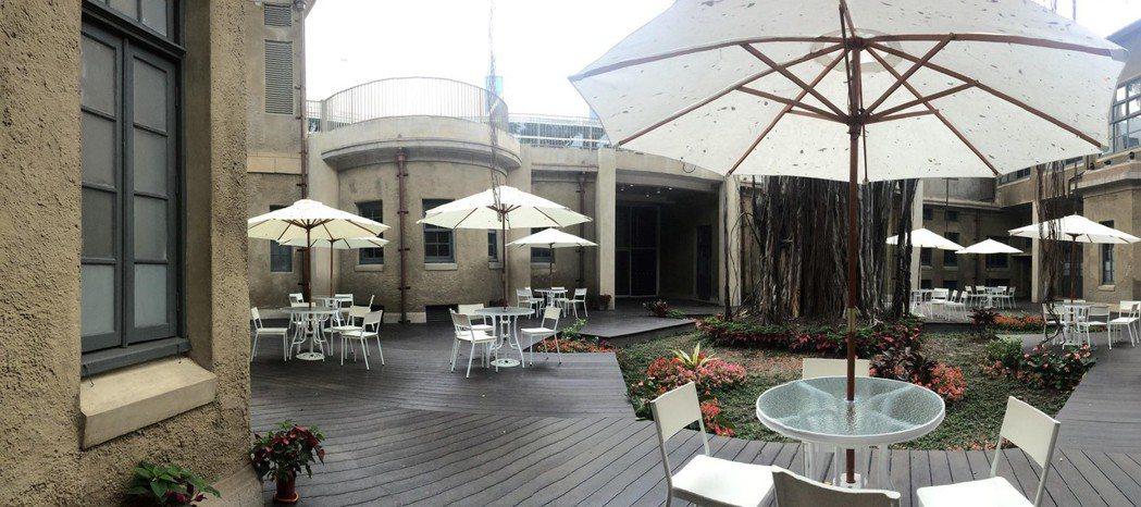 傳出名模林志玲可能在台南美術館一館的中庭舉辦婚禮。 圖/館方提供