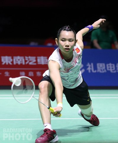 戴資穎在福州羽賽闖進四強。 Badminton Photo提供
