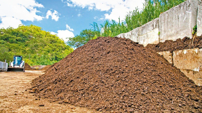 黃金比例的完美堆肥出爐了。 照片提供/李俊緯