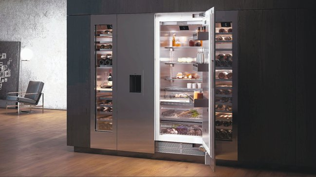 Gaggenau Vario 400系列冰箱,全平面按壓開門設計,輕鬆搭配室內設...