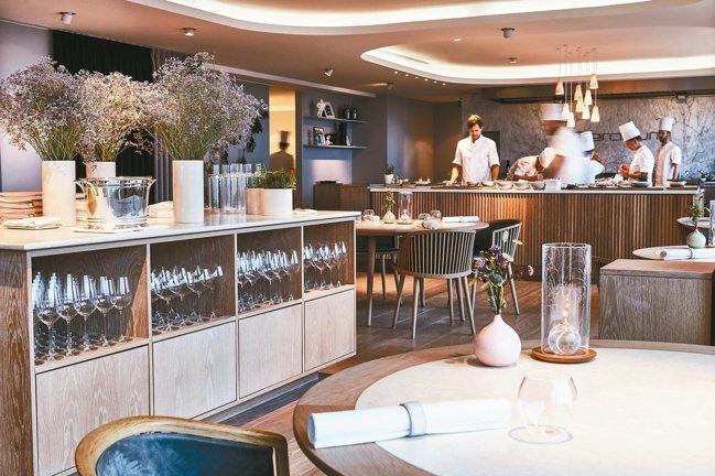 丹麥唯一的三星餐廳Geranium是極簡主義的奉行者。 圖/餐廳官方提供