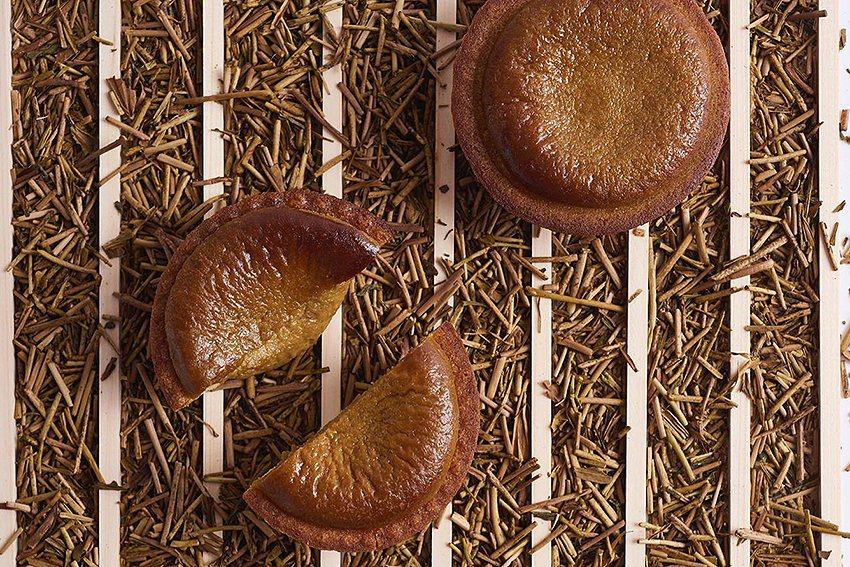 期間限定焙茶口味BAKE CHEESE TART。 新光三越桃園站前店/提供