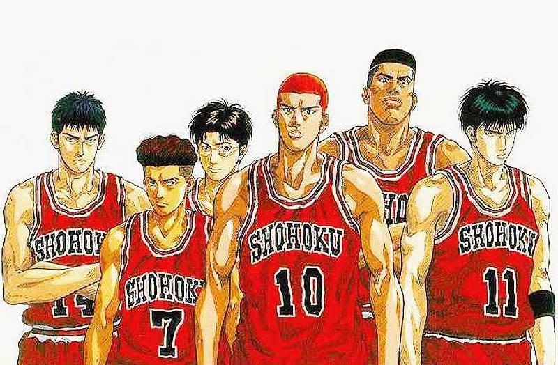 日本知名漫畫《灌籃高手》。 大然/提供