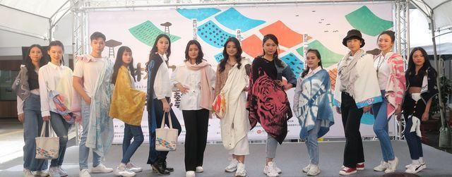 育達商職時尚模特兒科與時尚造型科同學,使出渾身解數,展演機能、環保、文創、工藝特...