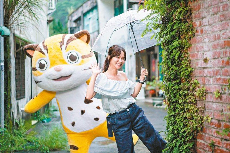 客家節目主持人陳明珠周日受邀到新北市客家文化園區,分享客家認同。 圖/新北市政府提供