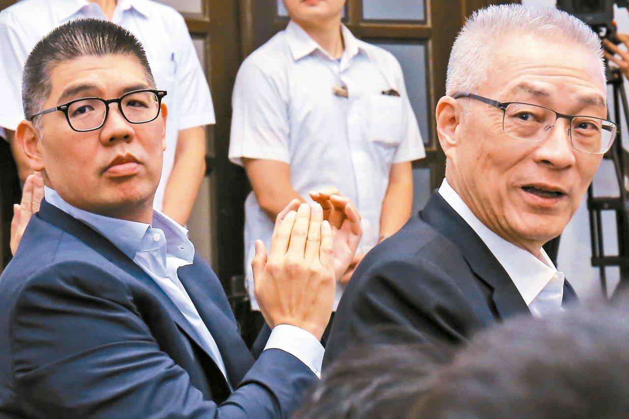 國民黨主席吳敦義有意自提為不分區立委,引爆黨內以連系為首的青壯派不滿。 圖/聯合...