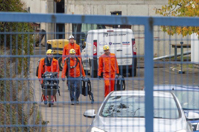 德國東部托伊辰塔爾一座碳酸鉀礦場今天驚傳爆炸。 美聯社