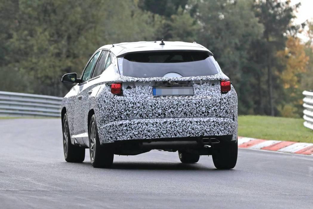距離第四代Hyundai Tucson的發表仍有一段時間。 摘自Carscoop...