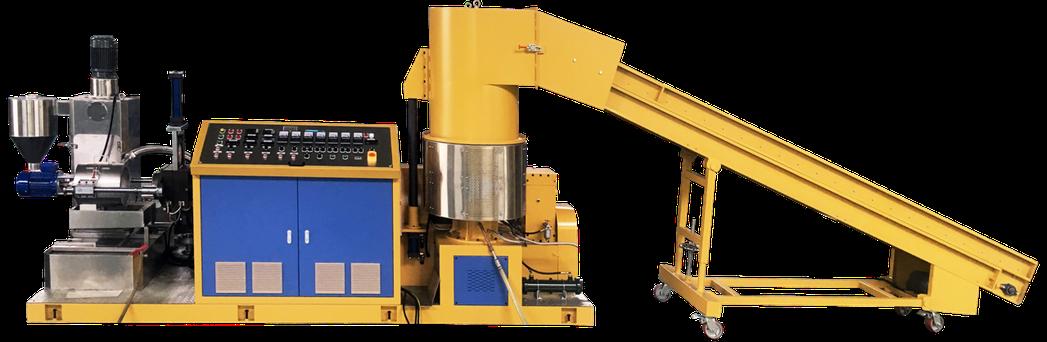 昇洋機械公司SY-HPF-65薄膜回收製粒機 昇洋公司/提供