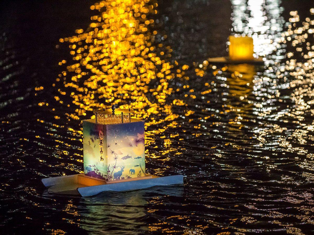 台灣放水燈。圖/林俊耀 攝影